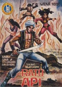 Sabu vs Ratu Api, Widya Noor, 1971pic source: sastrokomik